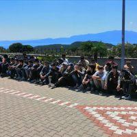 Çanakkale'de düzensiz göçmenler yakalandı!