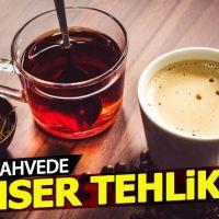 Çay ve kahve, akciğer kanseri riskini artırabiilir
