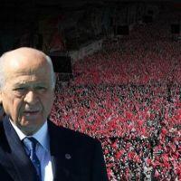 Cumhur İttifakı'nın Ankara mitinginde Bahçeli'den sert sözler