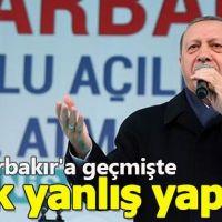 Cumhurbaşkanı Erdoğan Diyarbakır'da önemli açıklamalarda bulundu