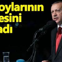 Cumhurbaşkanı Erdoğan: Kendisine teessüf ediyorum