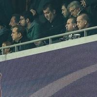 Cumhurbaşkanı Erdoğan, Monaco maçında tribündeki yerini aldı
