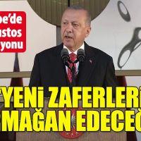 Cumhurbaşkanı Erdoğan'dan 30 Ağustos resepsiyonunda önemli mesajlar
