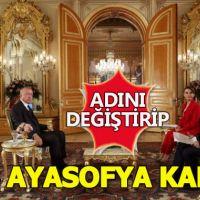 Cumhurbaşkanı Erdoğan'dan flaş Ayasofya kararı...