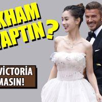 David Beckham'ın reklam filmi için evlenmesi