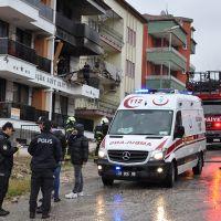 Denizli'de doğal gaz patlaması: 4 yaralı