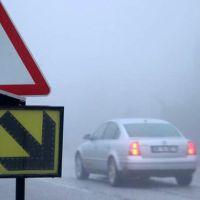 Denizli'de ulaşıma sis engeli!