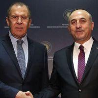 Dışişleri Bakanı Çavuşoğlu Rus mevkidaşı Lavrov'la görüştü