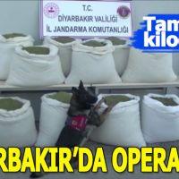 Diyarbakır'da uyuşturucu operasyonu düzenlendi
