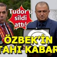 Dursun Özbek, Terim için sinyali verdi
