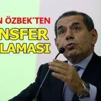 Dursun Özbek'ten transfer açıklaması - Galatasaray Transfer Haberleri