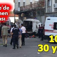 Edirne'de katliam gibi kaza 10 ölüm, 30 yaralı