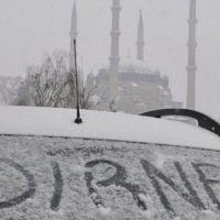 Edirne'de okullar tatil mi 28 aralık CUMA kar tatili var mı yok mu?