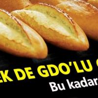 Ekmeğe'de GDO sonunda bulaştı