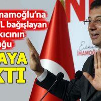 Ekrem İmamoğlu'na 100 bin TL bağışlayan ünlü şarkıcı