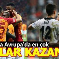 En çok Galatasaray ve Beşiktaş kazandı