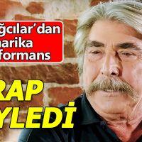 Erdal Özyağcıların rap şarkısı söylemesi