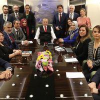 Erdoğan, ABD ziyaretinin konu başlıklarını açıkladı