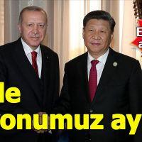 Erdoğan, Çin ve Türkiye'nin vizyonlarının aynı olduğunu belirtti