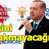 """Erdoğan, Karaman'da konuştu: """"FETÖ'nün peşini bırakmayacağız"""""""
