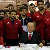 Erdoğan: Mazimizden cesaret alırız