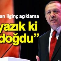 Erdoğan: Ne yazık ki ölü doğdu!