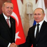Erdoğan ile Putin'den özel telefon görüşmesi
