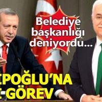 Erdoğan'dan Nihat Hatipoğlu'na özel görev