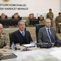 Erdoğan'dan Şanlıurfa'da sınır bölgesi ziyareti