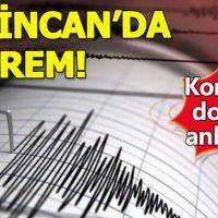 Erzincan'da deprem meydana geldi - Son depremler