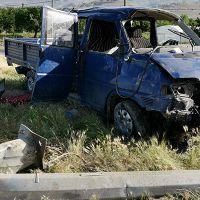 Erzincan'da yaralanmalı trafik kazası