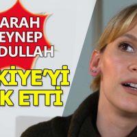 Farah Zeynep Abdullah'ın ülkeyi terk etmesi