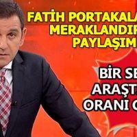 Fatih Portakal'ın seçim öncesi meraklandıran paylaşımı