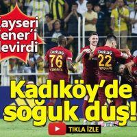 Fenerbahçe 2-3 Kayserispor Maç Özeti Goller beIN Sports