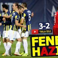 Fenerbahçe 3-2 AZ Alkmaar Hazırlık Maçı Özeti