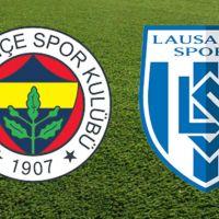 Fenerbahçe Lozan hazırlık maçı sonucu