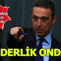 Fenerbahçe başkanı Ali Koç liderliği bırakmıyor