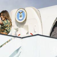 First Lady'inin korku dolu anları!