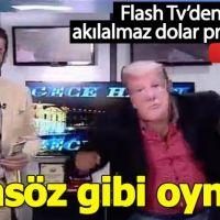Flash TV'den Donald Trump'a komik protesto