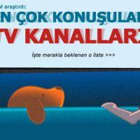 En çok konuşulan televizyon kanalı TRT