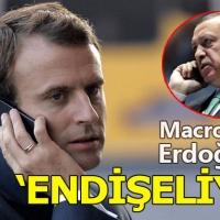 Fransa Cumhurbaşkanı Macron, Cumhurbaşkanı Erdoğan'ı aradı