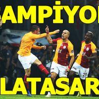 Galatasaray 22. kez şampiyon! Galatasaray 2-1 Başakşehir maç özeti izle