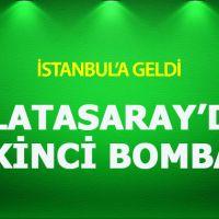 Galatasaray'ın yeni golcüsü İstanbul'a geldi