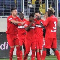 Gaziantep son dakika golüyle güldü