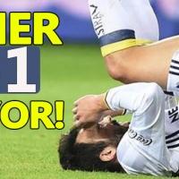 Gaziantepspor 1- 1 Fenerbahçe özeti ve golleri