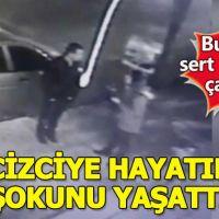 Gaziantep'te tacizci bu kez hayatının şokunu yaşadı