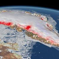 Grönland tahmin edilenden daha hızlı eriyor