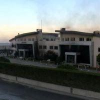 Hadımköy'deki fabrika yangını tamamen söndürüldü