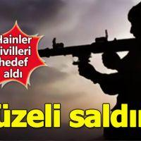 Hakkari'de PKK'dan füzeli saldırı: 3 yaralı