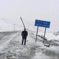 Haziran'da Rize'ye kar yağdı